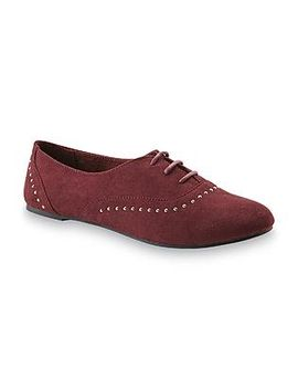 dream-out-loud-by-selena-gomez-womens-chloe-wine-oxford-flat by kmart