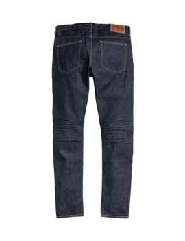 tapered-low-jeans by h&m
