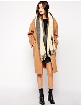 warehouse-stripe-scarf by warehouse
