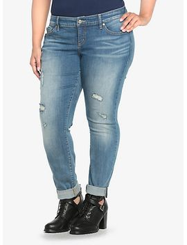 torrid-white-label-skinny-jean---light-wash-with-destruction-(tall) by torrid