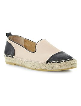 lolled-leather-and-suede-espadrilles by dune
