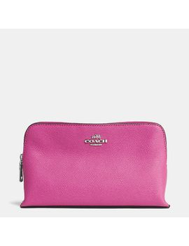 smallcosmetic-case-in-embossed-textured-leather by coach