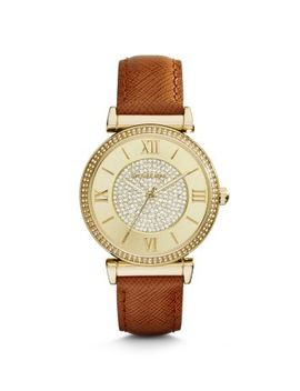catlin-pavé-gold-tone-watch by michael-kors