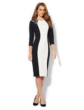 7495-ml-bw-dress by new-york-&-company
