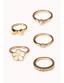 hyperfemme-ring-set by forever-21