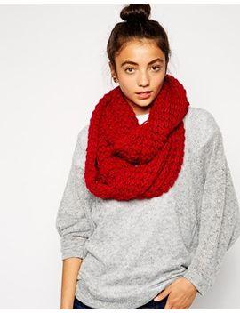 liquorish-wrap-knit-scarf by asos-brand