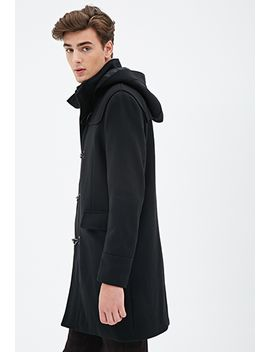 hooded-duffel-coat by forever-21