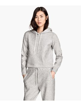 textured-pattern-sweatshirt by h&m