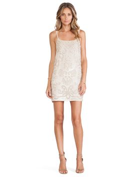 gloss-lace-mini-dress by needle-&-thread