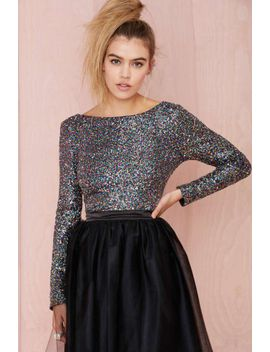 wyldr-first-class-sequin-top by nasty-gal