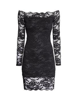 off-the-shoulder-lace-dress by h&m