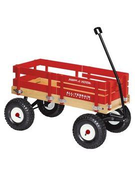 radio-flyer-all-terrain-cargo-wagon---red by radio-flyer