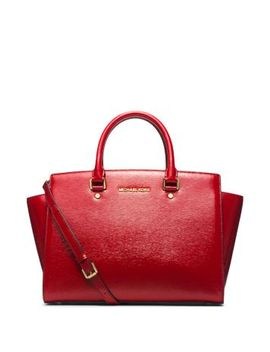 selma-large-patent-leather-satchel by michael-kors