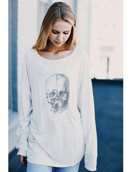 samantha-human-skull-top by brandy-melville