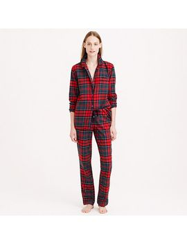 pajama-set-in-plaid-flannel by jcrew