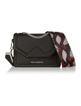 k_rock-mini-textured-leather-shoulder-bag by karl-lagerfeld