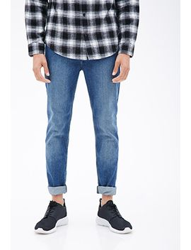 medium-wash---slim-fit-jeans by forever-21