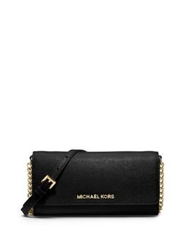 jet-set-travel-saffiano-leather-chain-wallet by michael-kors