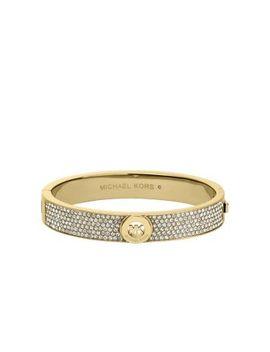 fulton-pavé-gold-tone-bangle by michael-kors