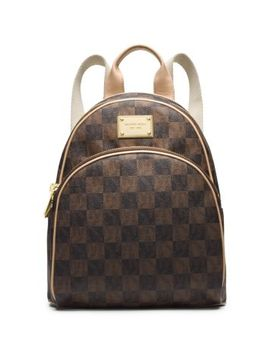 jet-set-travel-checkerboard-small-backpack by michael-kors