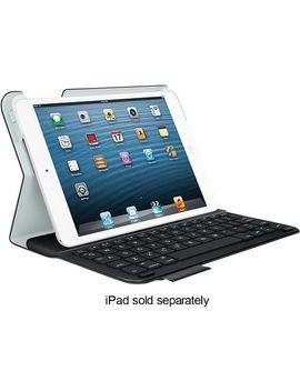 ultrathin-keyboard-folio-case-for-apple®-ipad®-mini,-ipad-mini-2-and-ipad-mini-3---carbon-black by logitech
