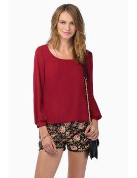 what-a-zip-blouse by tobi