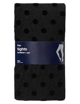 velvet-polka-dot-tights by gap
