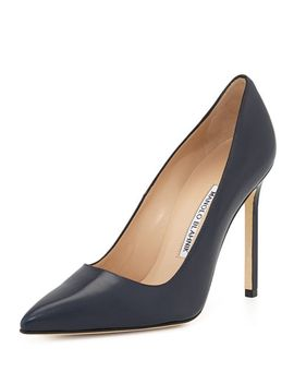 bb-leather-115mm-pump,-navy by manolo-blahnik