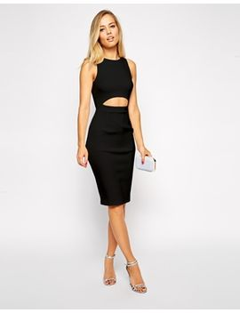 asos-clean-2-piece-midi-dress by asos-collection