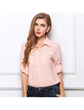 plus-size-women-blouse-new-2014-spring-autumn-korean-fashion-casual-long-sleeve-shirt by ali-express