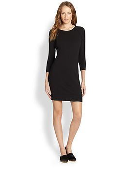 raglan-sweatshirt-dress by james-perse