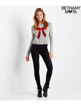 bow-raglan-sweater by aeropostale