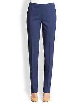 stretch-wool-bleecker-pants by lafayette-148-new-york