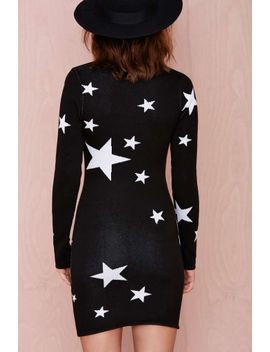 seeing-stars-knit-dress by nasty-gal