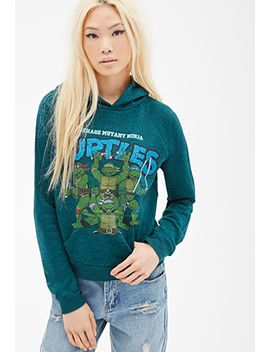 ninja-turtles-graphic-hoodie by forever-21