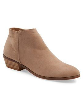 faux-suede-ankle-bootie by aeropostale