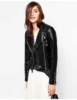mango-soft-leather-zip-biker-jacket by mango
