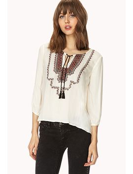sequined-peasant-top by forever-21