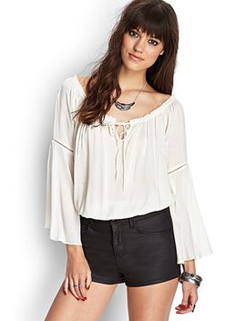 off-the-shoulder-blouse by forever-21