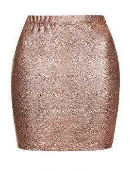 **lizard-foil-skirt-by-motel by topshop