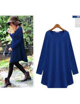 new-fashion-2014-autumn-winter-dress-women-casual-denim-elegant-dresses by ali-express