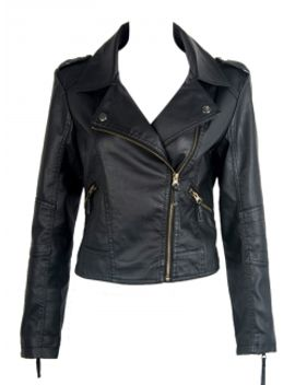 black-leather-jacket by choies