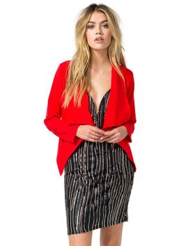 lauren-open-front-blazer by agaci