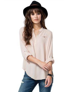 lina-zip-blouse by agaci