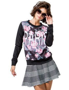 soft-petal-paris-sweatshirt by agaci
