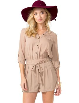 buttonfront-classic-romper by agaci