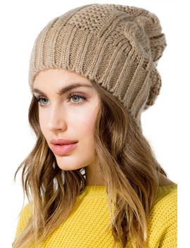 cable-knit-basic-beanie by agaci