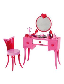 barbie-glam-vanity-furniture-set by barbie