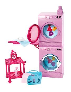barbie-glam-laundry-furniture-set by barbie