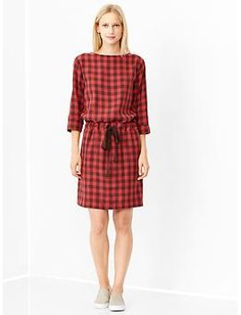 printed-boatneck-dress by gap